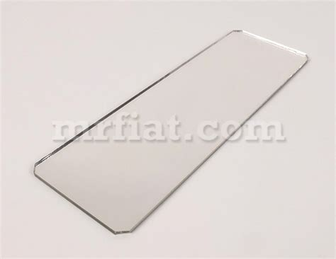 Interior Rear View Mirror Replacement Glass fiat 500 n d interior rear view mirror replacement glass new ebay