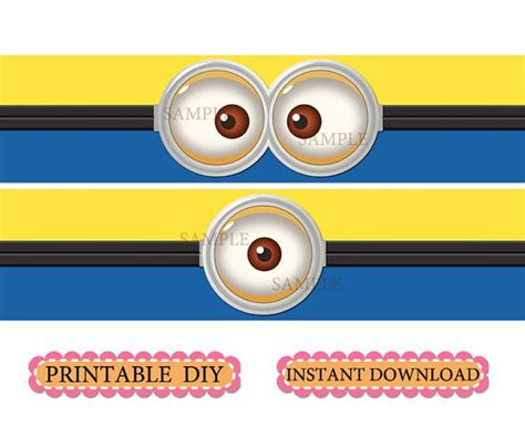 printable minion wrapping paper diy printable instant download minion inspired birthday