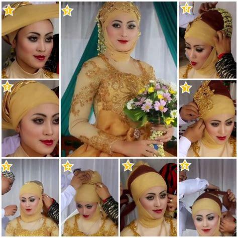 download tutorial memakai hijab pengantin tutorial hijab untuk pengantin terbaru