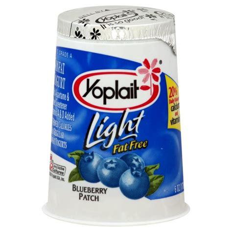 yoplait light yogurt ingredients yoplait light yogurt blueberry fat free