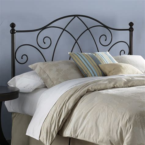 steel bed headboard fashion bed group deland metal headboard reviews wayfair