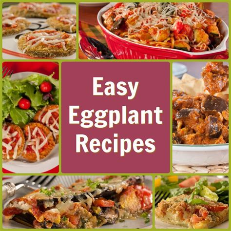 recipes for 11 easy eggplant recipes everydaydiabeticrecipes