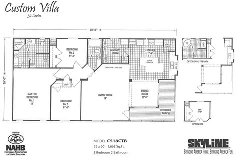 custom villa c518ctb by skyline homes