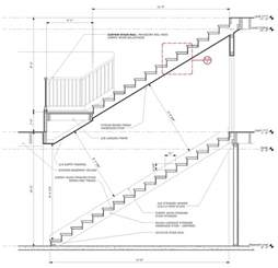 Deck Stair Handrail Height Code Marques King