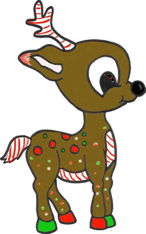 christmas reindeer adoptable by smidgeon16 on deviantart