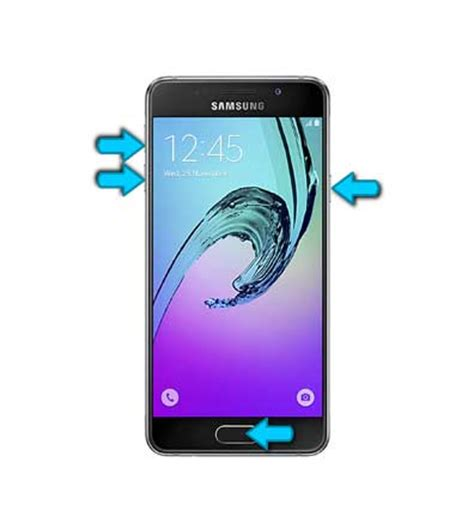 reset samsung a3 button factory reset samsung galaxy a3 android hard reset 2016