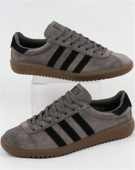 Adidas Grey Black 40 44 Kode Ss6573 adidas bermuda trainers grey black gum suede shoes