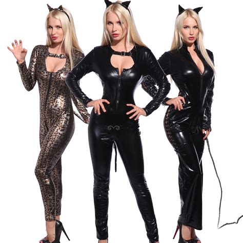 Promo Legging Injak Big Size Legging Xl Spandex Besar Jus D Or costume deguisement leopard cat pu simili