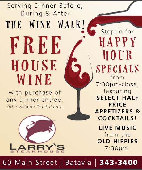Happy Hour Chambord Walk by Sponsored Post Free House Wine Happy Hour Specials At