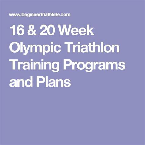 couch to olympic triathlon training 1000 ideas about 20 weeks on pinterest 12 weeks 16