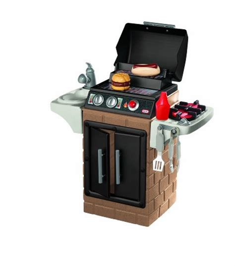 tikes get out n grill kitchen set home garden