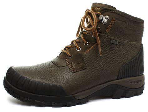 merrell mens winter boots new merrell himavat chukka waterproof mens winter boots
