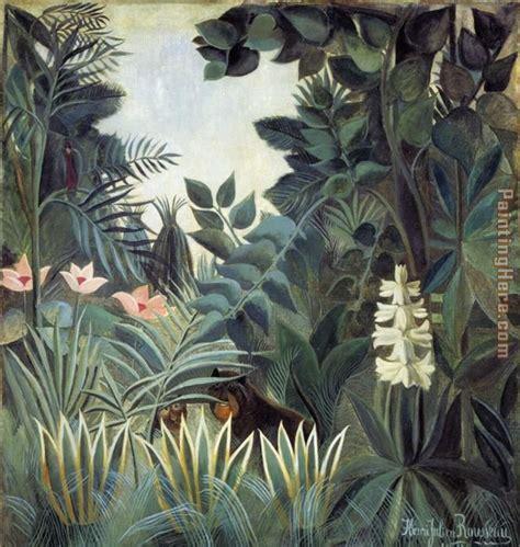jungle painting henri rousseau jungle paintings anysize 50