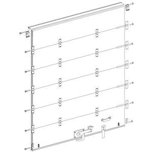 90 quot w x 90 quot h replacement door for whiting style roll up