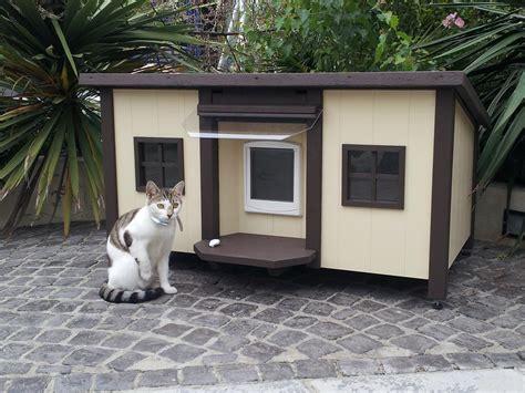 Custom handmade cathouses amp catshelters luxury pet homes