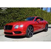 2013 Dragon Red Bentley GT Coupe  BENTLEYSD