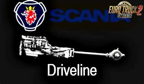 23 revision v1 scania drivetrain revision v1 9 tuning mod ets2 mod