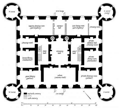 medieval castle floor plans inveraray castle floorplan pinterest floors castles