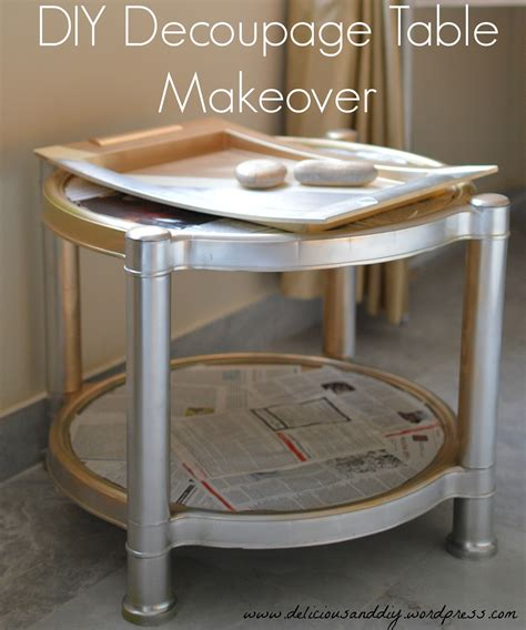 Diy Decoupage Table - 301 moved permanently