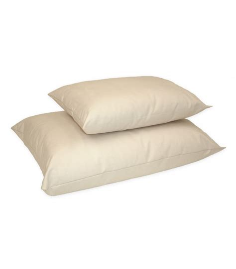 Cotton Pillow Organic Cotton Pla Pillows Healthy Bedroom
