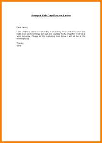 7 excuse letter sle for being absent in school fancy