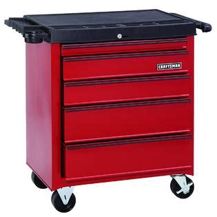 craftsman 5 drawer tool box kmart craftsman 26 in 5 drawer homeowner rolling cabinet red