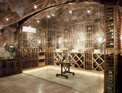 wine cellar on wine rooms wine cellar design