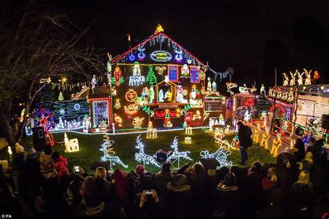 best christmas decor houses edmonton uk s most festive homes