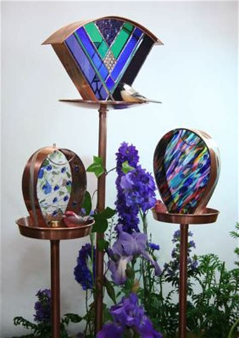 stained glass bird feeder pattern woodworking projects