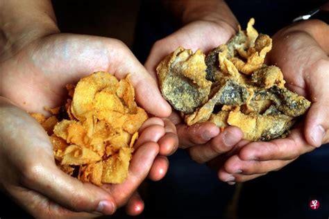 Golden Egg Fish Skin 22 from 70 golden duck salted egg yolk potato chips fish skin crisps worth up 180 two