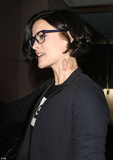jaimie alexander tattoo blindspot s jaimie shows hoda and kathie
