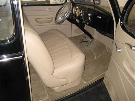 fixing car upholstery auto upholstery repair classic car restoration shop