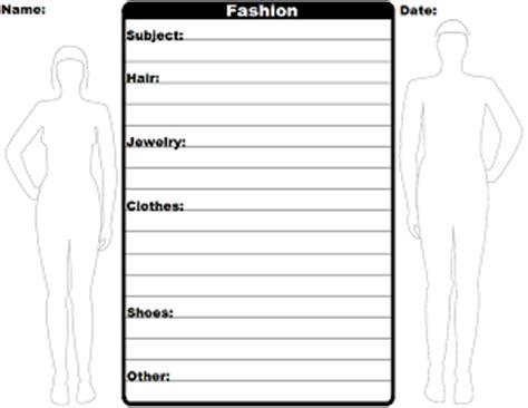 fashion design worksheets fashion worksheet creator s history