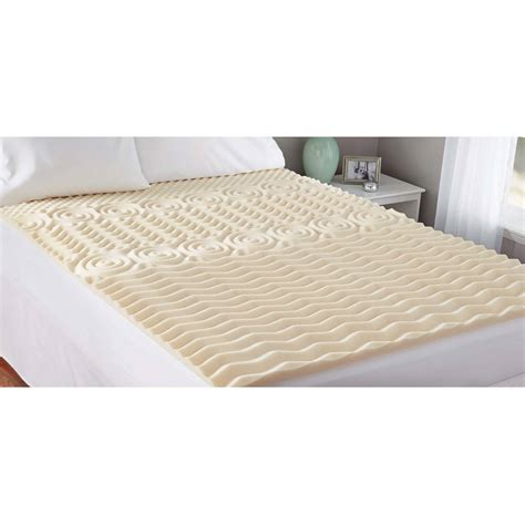 home design 5 zone memory foam home design 5 zone memory foam mattress pad home design
