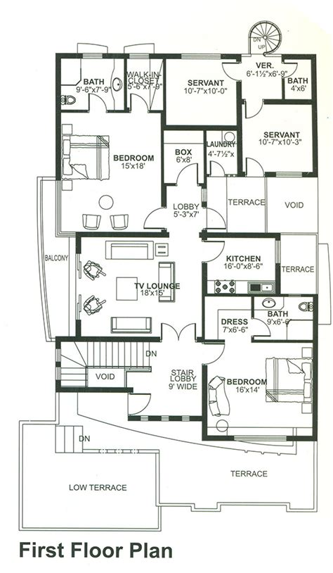 floor plan bed 1 knal story house design 6 bed house floor plan