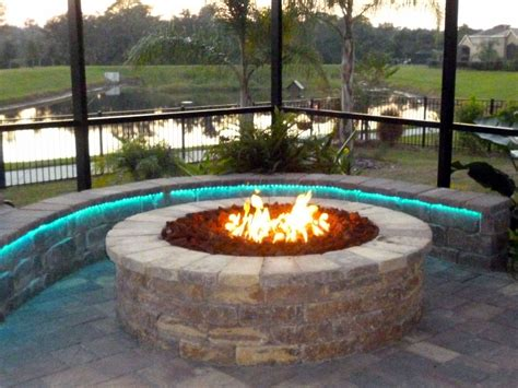 diy network gas pit firepit led lights outdoor gas effects lights backyard and outdoor ideas