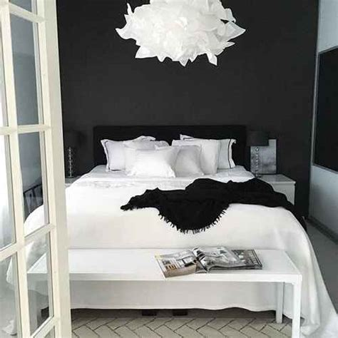 desain dinding kamar hitam putih desain kamar tidur konsep hitam putih yang menarik dan elegan