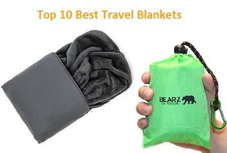 Best Travel Blanket For Airplane by Top 10 Best Travel Blankets In 2018 Complete Guide