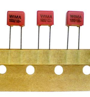 wima capacitors fkp 3 lot of 5 wima polypropylene pp capacitor 1000pf 100v fkp 2 fkp2 ebay