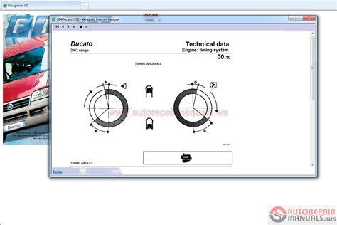 fiat service manuals set dvd auto repair manual