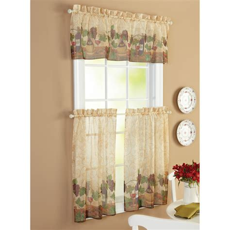 country kitchen curtain images