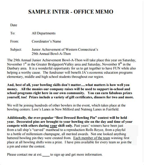interoffice memo template free interoffice memo templates 7 free documents in