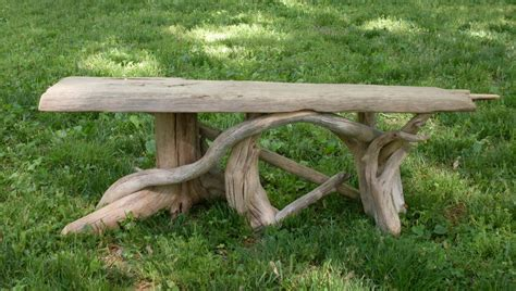driftwood benches run of the mill designs some pictures and commentary