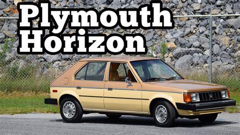 how do cars engines work 1978 plymouth horizon engine control 1985 plymouth horizon regular car reviews youtube