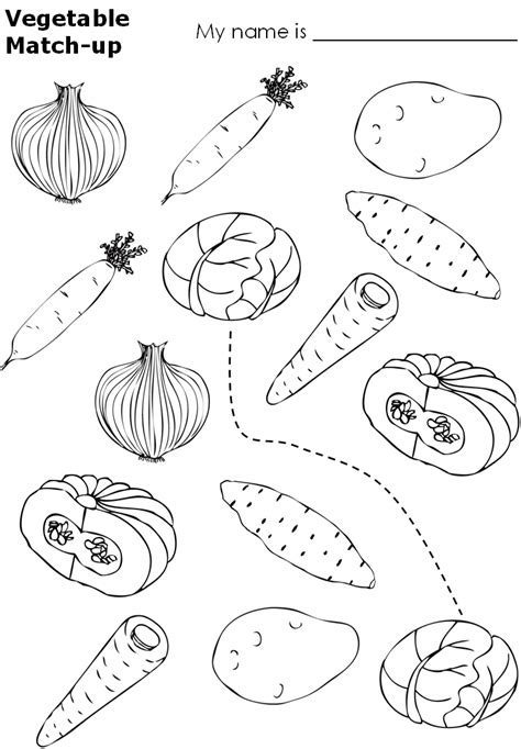 preschool coloring pages of vegetables worksheets for preschoolers on fruits and vegetables