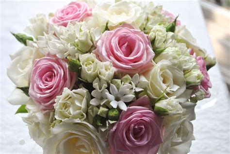 Pink Wedding Flower Bouquets by Pink And White Wedding Flowers Heaton House Farm