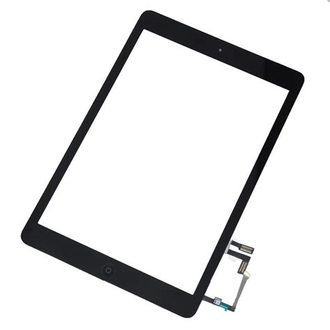 Air A1474 black front touch screen glass digitizer home button for