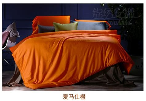 king size bed in a bag orange comforter set orange bedding set king size duvet cover cotton sheets bed in a bag sheet linen