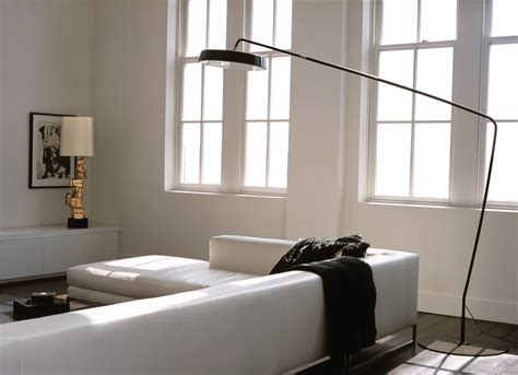arc lamp living room