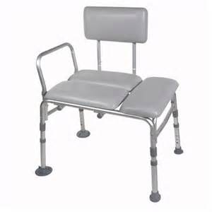 drive k d padded transfer bench shower chair